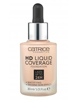 "Fond de teint ""HD liquid coverage foundation"" CATRICE"