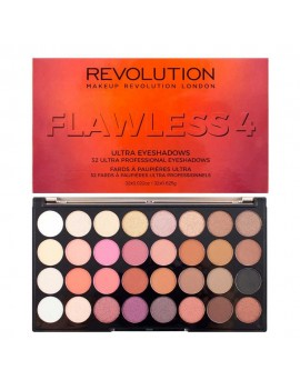 "Palette Fard à Paupières 32 couleurs ""Flawless 4"" REVOLUTION MAKE UP"