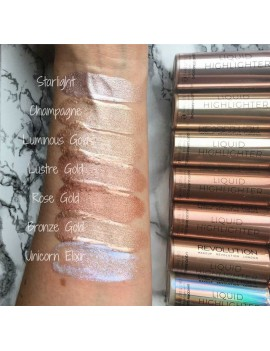 "Liquid Highlighter ""Euphoric Gold"" REVOLUTION MAKE UP"