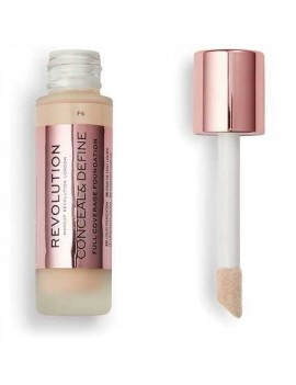 "Fond de Teint ""Full Coverage Foundation"" REVOLUTION F6"